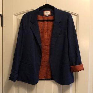 H&M Navy Lined Blazer